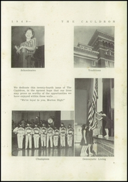 Page 7, 1948 Edition, Morton High School - Cauldron Yearbook (Morton, IL) online yearbook collection