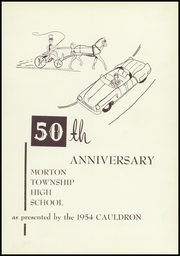 Page 5, 1954 Edition, Morton High School - Cauldron Yearbook (Morton, IL) online yearbook collection