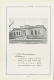 Page 12, 1921 Edition, Urbana High School - Tower Yearbook (Urbana, IL) online yearbook collection