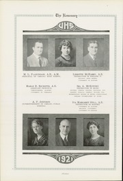 Page 14, 1921 Edition, Urbana High School - Tower Yearbook (Urbana, IL) online yearbook collection