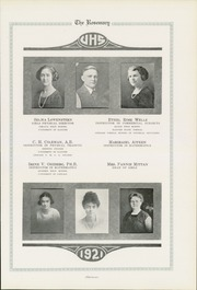 Page 15, 1921 Edition, Urbana High School - Tower Yearbook (Urbana, IL) online yearbook collection