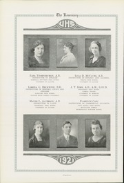 Page 16, 1921 Edition, Urbana High School - Tower Yearbook (Urbana, IL) online yearbook collection