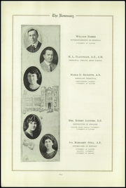Page 14, 1922 Edition, Urbana High School - Tower Yearbook (Urbana, IL) online yearbook collection