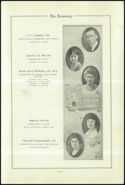 Page 15, 1922 Edition, Urbana High School - Tower Yearbook (Urbana, IL) online yearbook collection