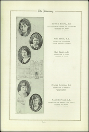 Page 16, 1922 Edition, Urbana High School - Tower Yearbook (Urbana, IL) online yearbook collection