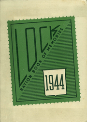 Lockport Township High School - Lock Yearbook (Lockport, IL) online yearbook collection, 1944 Edition, Page 1