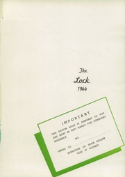 Page 5, 1944 Edition, Lockport Township High School - Lock Yearbook (Lockport, IL) online yearbook collection