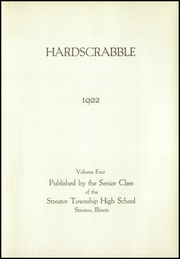 Page 5, 1922 Edition, Streator Township High School - Hardscrabble Yearbook (Streator, IL) online yearbook collection