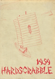 1959 Edition, Streator Township High School - Hardscrabble Yearbook (Streator, IL)