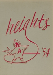 Arlington High School - Heights Yearbook (Arlington Heights, IL) online yearbook collection, 1954 Edition, Page 1