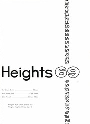 Page 5, 1969 Edition, Arlington High School - Heights Yearbook (Arlington Heights, IL) online yearbook collection