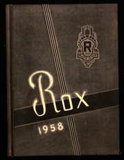 1958 Edition, Roxana High School - Rox Yearbook (Roxana, IL)