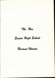 Page 5, 1958 Edition, Roxana High School - Rox Yearbook (Roxana, IL) online yearbook collection