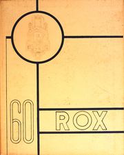 1960 Edition, Roxana High School - Rox Yearbook (Roxana, IL)
