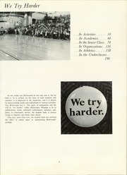 Page 7, 1966 Edition, Richwoods High School - Excalibur Yearbook (Peoria, IL) online yearbook collection