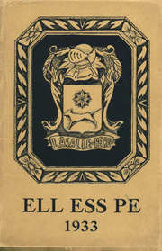 La Salle Peru Township High School - Ell Ess Pe Yearbook (La Salle, IL) online yearbook collection, 1933 Edition, Page 1