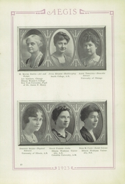 Page 17, 1923 Edition, Bloomington High School - Aepix Yearbook (Bloomington, IL) online yearbook collection