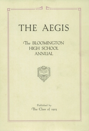 Page 5, 1923 Edition, Bloomington High School - Aepix Yearbook (Bloomington, IL) online yearbook collection