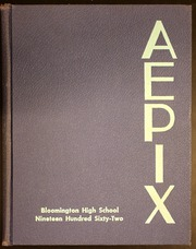 Page 1, 1962 Edition, Bloomington High School - Aepix Yearbook (Bloomington, IL) online yearbook collection