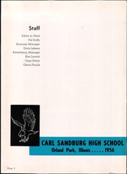 Page 4, 1956 Edition, Carl Sandburg High School - Poet Yearbook (Orland Park, IL) online yearbook collection
