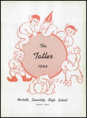 Page 7, 1944 Edition, Rochelle Township High School - Tatler Yearbook (Rochelle, IL) online yearbook collection