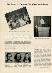 Page 16, 1947 Edition, Rochelle Township High School - Tatler Yearbook (Rochelle, IL) online yearbook collection
