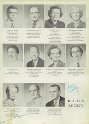 Page 15, 1955 Edition, Rochelle Township High School - Tatler Yearbook (Rochelle, IL) online yearbook collection