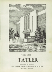 Page 5, 1955 Edition, Rochelle Township High School - Tatler Yearbook (Rochelle, IL) online yearbook collection