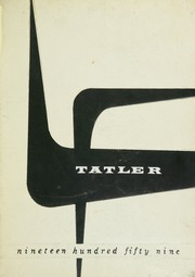 Page 1, 1959 Edition, Rochelle Township High School - Tatler Yearbook (Rochelle, IL) online yearbook collection