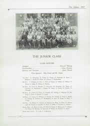 Page 16, 1937 Edition, J D Darnall High School - Sphinx Yearbook (Geneseo, IL) online yearbook collection