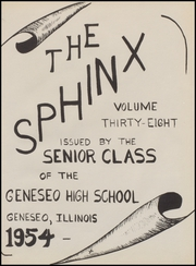 Page 5, 1954 Edition, J D Darnall High School - Sphinx Yearbook (Geneseo, IL) online yearbook collection