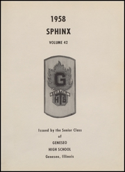 Page 5, 1958 Edition, J D Darnall High School - Sphinx Yearbook (Geneseo, IL) online yearbook collection