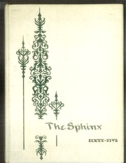 1965 Edition, J D Darnall High School - Sphinx Yearbook (Geneseo, IL)