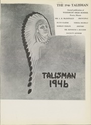 Page 5, 1946 Edition, Woodruff High School - Talisman Yearbook (Peoria, IL) online yearbook collection