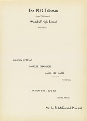 Page 5, 1947 Edition, Woodruff High School - Talisman Yearbook (Peoria, IL) online yearbook collection