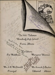 Page 5, 1950 Edition, Woodruff High School - Talisman Yearbook (Peoria, IL) online yearbook collection