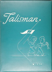 Woodruff High School - Talisman Yearbook (Peoria, IL) online yearbook collection, 1954 Edition, Page 1