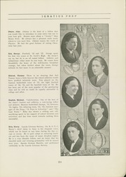 Page 17, 1924 Edition, St Ignatius High School - Ignatius Yearbook (Chicago, IL) online yearbook collection