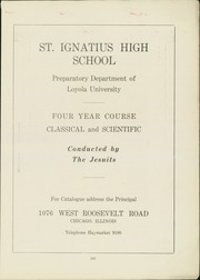 Page 3, 1924 Edition, St Ignatius High School - Ignatius Yearbook (Chicago, IL) online yearbook collection