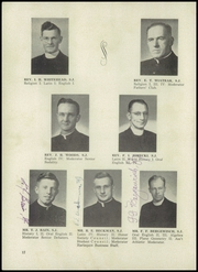 Page 14, 1952 Edition, St Ignatius High School - Ignatius Yearbook (Chicago, IL) online yearbook collection