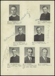 Page 16, 1952 Edition, St Ignatius High School - Ignatius Yearbook (Chicago, IL) online yearbook collection