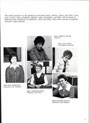 Page 11, 1976 Edition, St Ignatius High School - Ignatius Yearbook (Chicago, IL) online yearbook collection