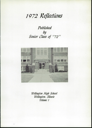 Page 5, 1972 Edition, Wellington High School - Memoirs Yearbook (Wellington, IL) online yearbook collection