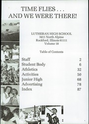 Page 5, 1984 Edition, Lutheran High School - Cavalier Yearbook (Rockford, IL) online yearbook collection