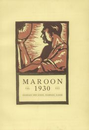 Page 7, 1930 Edition, Champaign High School - Maroon Yearbook (Champaign, IL) online yearbook collection