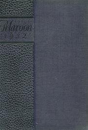 1932 Edition, Champaign High School - Maroon Yearbook (Champaign, IL)