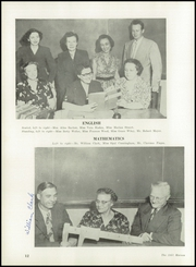 Page 16, 1951 Edition, Champaign High School - Maroon Yearbook (Champaign, IL) online yearbook collection