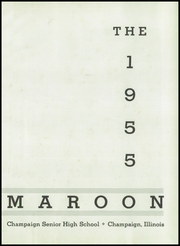 Page 5, 1955 Edition, Champaign High School - Maroon Yearbook (Champaign, IL) online yearbook collection