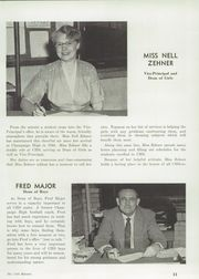 Page 15, 1956 Edition, Champaign High School - Maroon Yearbook (Champaign, IL) online yearbook collection