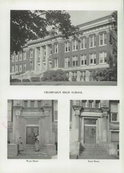 Page 6, 1956 Edition, Champaign High School - Maroon Yearbook (Champaign, IL) online yearbook collection